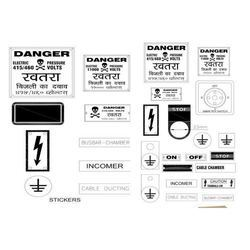 Panel Board Stickers & Plates