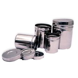 Stainless Steel Canister 4 Pc. Set