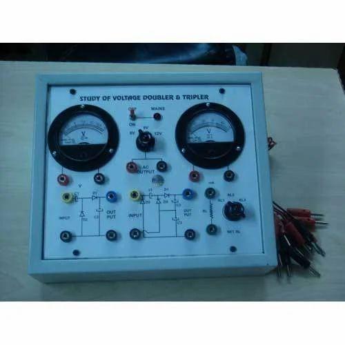 Voltage Doubler And Tripler Circuit