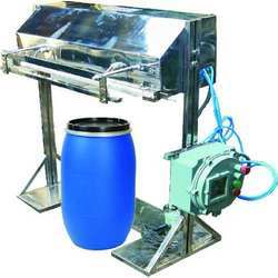 pneumatic flame proof machine