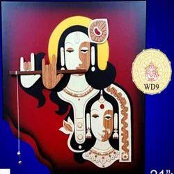 Wooden Radha Krishna Items