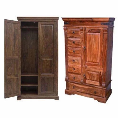 Teak Wooden Furniture Wooden Almirah Manufacturer From