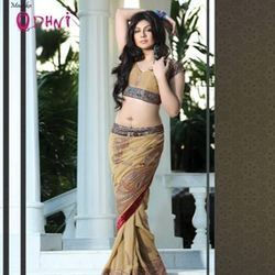 Indian Print Saree