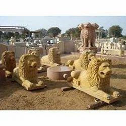 Sandstone Lion