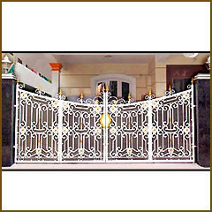 Designer Stainless Steel Gates