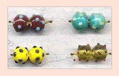 Round Lampwork Beads