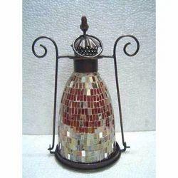 Mosaic Decorative Glass Lantern
