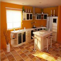Orange Themed-Kitchen