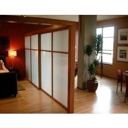 Sliding Room Partitions