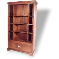 Bookcase with 2 Door Cupboard