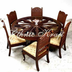 Carved Ethnic Dining Set