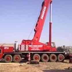 200 Mt. Tire Mounted Telescopic Boom Crane