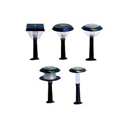 solar modules garden lights