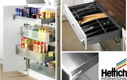 Hettich drawer basket hettich hardware fittings wholesale supplier from chennai - Muebles de cocina alemanes ...