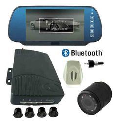 Bluetooth video parking sensor with 7 inch TFT display