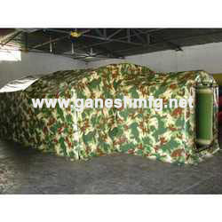 Inflatable Shelter- Military Application