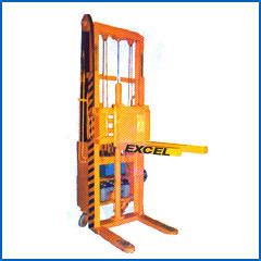 Semi Electrical Tilting Stacker