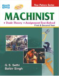 Machinist (Theory With Assignment/Test solved) Books