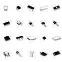 ODD IC's, SMD IC's, Transistor & Mosfet