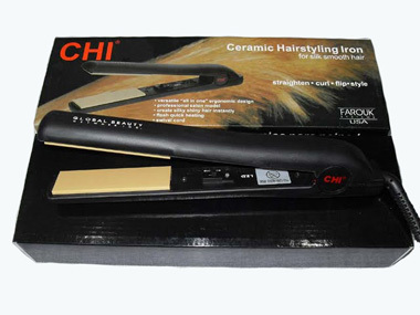 Black CHI Flat Irons