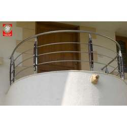 Wooden & Mild Steel Railings