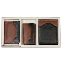 Gift Sets, Leather Wallet