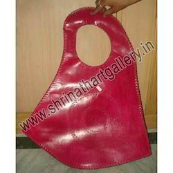 Ladies Leather Bag in Pink Color
