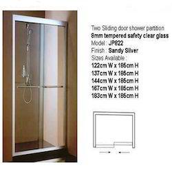 shower enclosure two sliding door