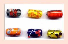 Tube Lampwork Beads