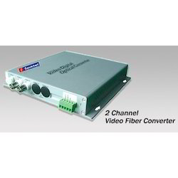2 Channel Video Fiber Converter