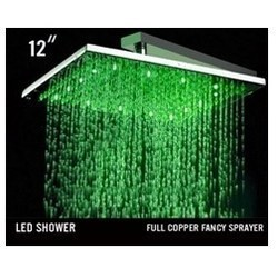 Fancy LED Overhead Showers