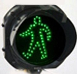 Traffic Signal Light (Pedistrian) Green