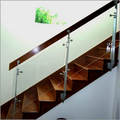 SS Railing With Glass