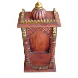1 Drawer Mandir Embossed