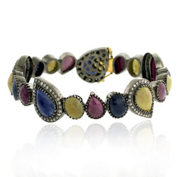 Sapphire Gemstone Bangle