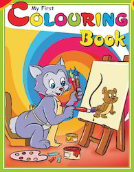 My First Coloring Book (green)