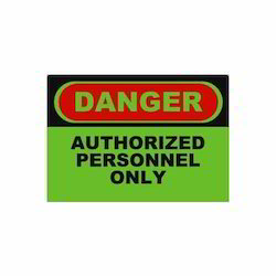 Caution Board Signage