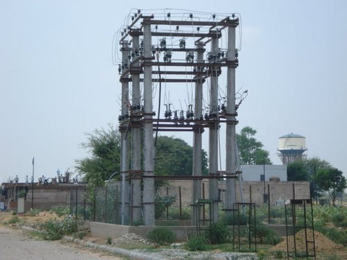 Ht Outdoor Sub Station Double Pole Structure Service