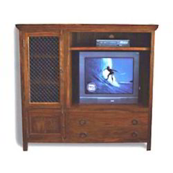 Television Cabinet of 2 Drawers & 1 Small & 1 Big Cabinets