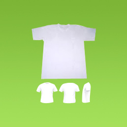 White Plain Men T-Shirt
