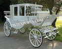 Elegant Covered Horse Carriage