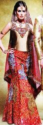 Red Color Bridal Lehenga