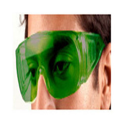 'saviour' Clear Cover Spectacle with Green Lens (model Sp-1)