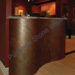 Stone Reception Desk