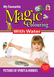 Magic Coloring With Water  Sports & Hobbies
