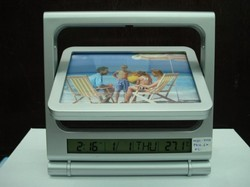 Bs127_photoframe  With  Digital  Clock