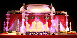 New Design Wedding Crystal Mandap Set