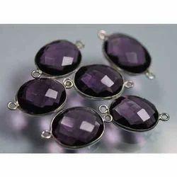 925 Sterling Silver, Purple Amethyst Quartz