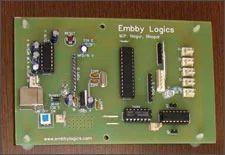 Avr Atmega8 Robotics Board
