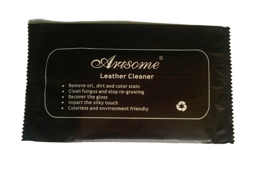 Leather Care Cleaner Wet Tissue